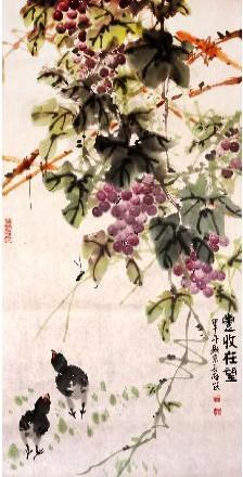满园清辉至荼蘼 我的艺术网王长纯写意花鸟