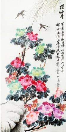 诗意美景尽演绎 我的艺术网巴通忠国画花鸟