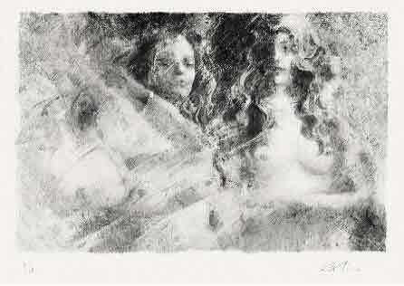 青春赞歌 闺蜜至上 我的艺术网臧鹏限量版画
