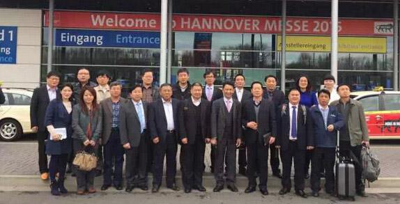 中国防腐企业精英赴欧洲商务考察汉诺威工业博览会