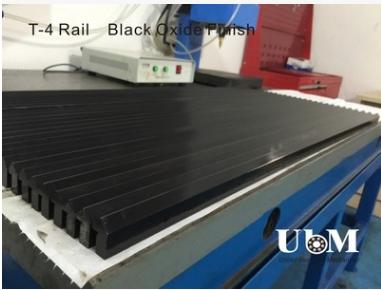 定制精磨T4直线导轨 单边V-90导轨导条 发黑防锈
