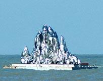 漂浮的仙人山