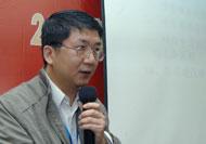 中国海诚工程设计院黄德飞副所长做主题演讲