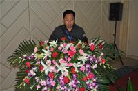 北京航天万源煤化工工程有限公司总工程师刘晓军先生做专题报告发言