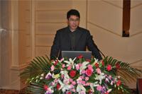 中材高新材料股份有限公司项目经理李杰先生做专题报告发言