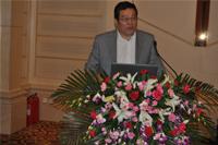 兖矿国拓化工科技有限公司总经理丁辉先生做专题报告发言