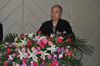 江苏煤化工程研究设计院有限公司院长冯孝庭先生做专题报告
