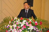 青岛科技大学教授郭庆杰先生做报告发言
