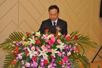 青岛软控重工有限公司副总经理张安军先生开幕式致辞