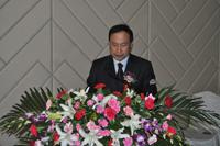 青岛软控重工有限公司副总经理张安军先生做专题报告发言