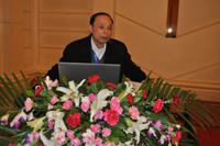 上海化工研究院教授卢西如先生做专题报告发言
