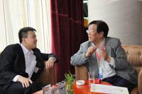 电子商务运营模式――会议组委会聂主任与中国电子商务协会专家委主任(天津工业大学)王汝林教授