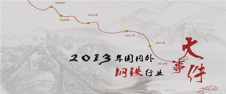 2013年国内外钢铁行业大事件