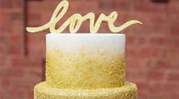 造型异常美丽的婚礼蛋糕