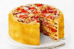 把披萨和寿司做成蛋糕 元芳你怎么看?