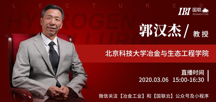 国联云:北科大郭汉杰详解氢冶金原理与效益预测